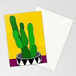 Cactus Art03 Pot#5 Stationery Cards