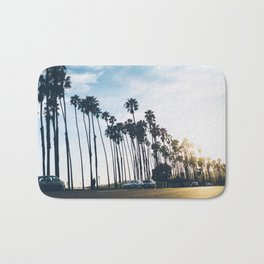 Sunsets and Palm Trees Bath Mat