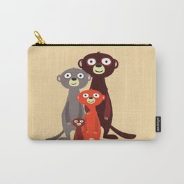 The Meerkat Family Carry-All Pouch