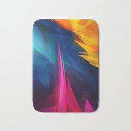 Geometric Colors Bath Mat