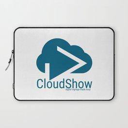 CloudShow (blue logo) Laptop Sleeve