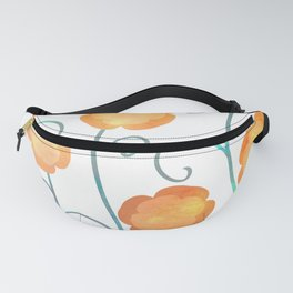 Silly Poppies Fanny Pack