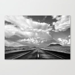 West Texas Road Canvas Print
