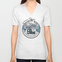 The Ministry of Pies Unisex V-Neck