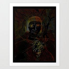 Gullveig Art Print