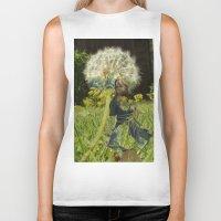 fairies Biker Tanks featuring Flower Fairies by BryonyEloise