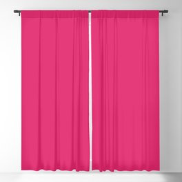 From The Crayon Box – Inspired by Razzmatazz - Bright Pink Solid Color Blackout Curtain