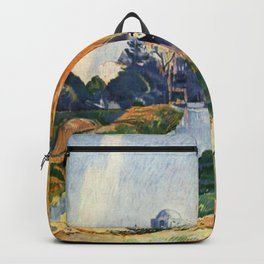 Paul Gauguin - Les Alyscamps Backpack