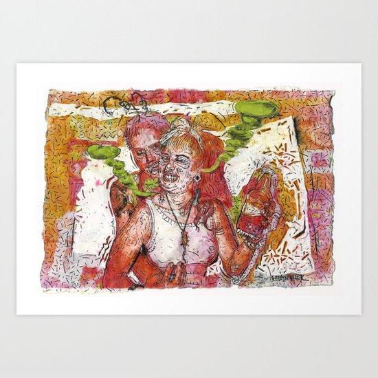 Copper Feels Art Print