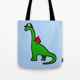 Pirate Dinosaur - Brachiosaurus Tote Bag
