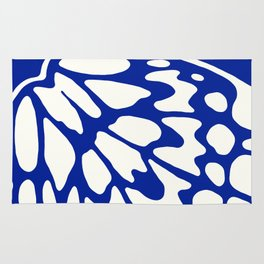 Butterfly Wings: Lapis Rug