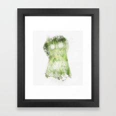 phantom vegetable Framed Art Print