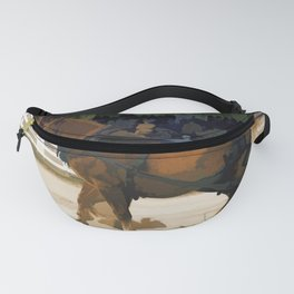 Pure Horsepower - Horse Pulling Event Fanny Pack