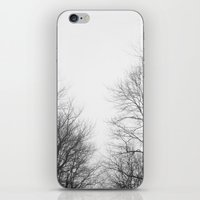 gray iPhone & iPod Skins featuring Gray by Diana Mutino