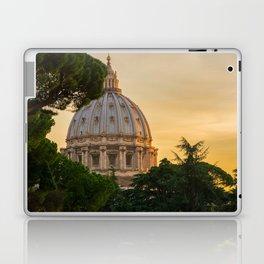 Sunset At The Vatican Laptop & iPad Skin