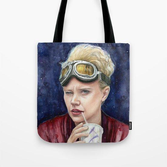 Holtzmann Ghostbusters Portrait Tote Bag