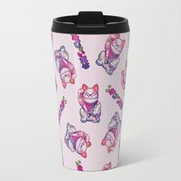 Maneki Neko Cotton Travel Mug