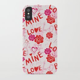 BE MINE LOVE  iPhone Case