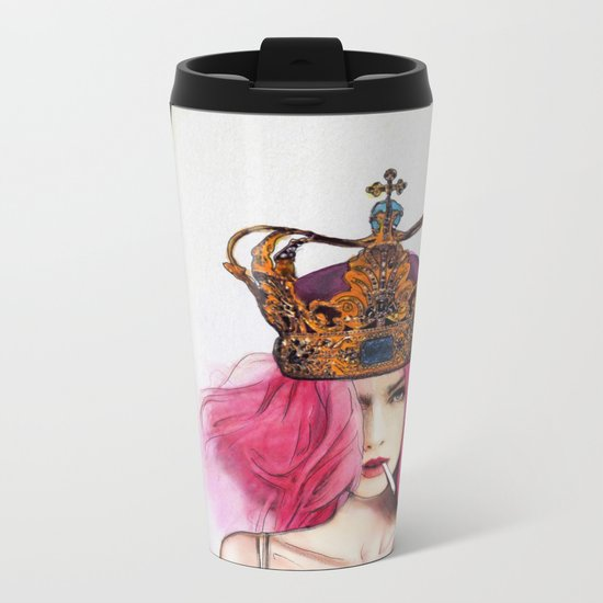 Queen Bitch Metal Travel Mug