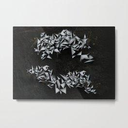 Onyx Metal Print