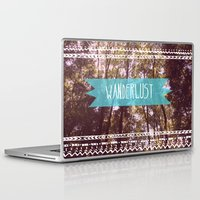 wanderlust Laptop & iPad Skins featuring Wanderlust by AA Morgenstern