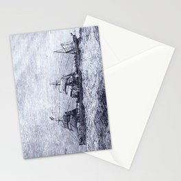 Mastery of Nature by Man Stationery Cards