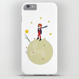 David Bowie as The Little Prince iPhone Case