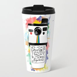 Develop From the Negatives Travel Mug