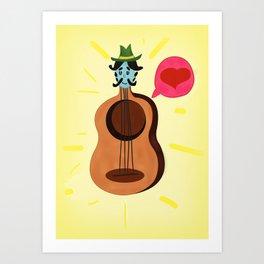 Alberto Art Print