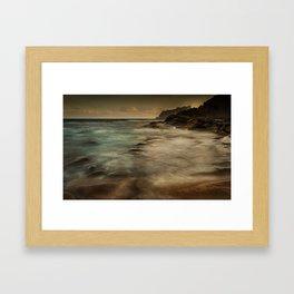Cala de Benissa Framed Art Print