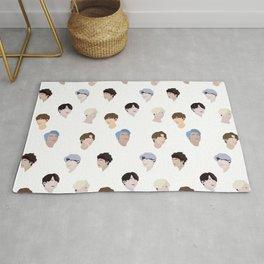 Minimalist BTS Design Rug