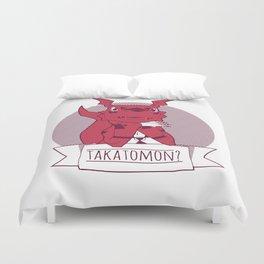 Takatomon Duvet Cover