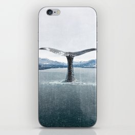 Whale In A French Lake iPhone Skin
