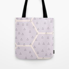 Polygon meets triangle Tote Bag