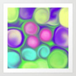 Fruity colours Art Print