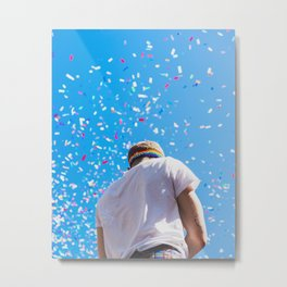 Tommy Dorfman at NYC World Pride Metal Print