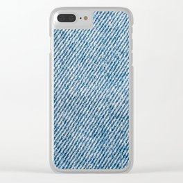 Jeans Pocket With Denim Texture, Jeans Texture, Denim Texture, Textured Background Cover, Pattern Clear iPhone Case