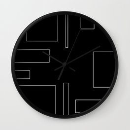 City Block Wall Clock