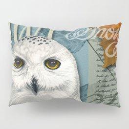 The Snowy Owl Journal Pillow Sham