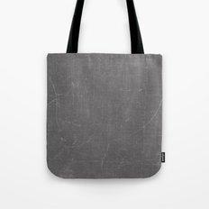 Gray and White School BlackBoard Tote Bag