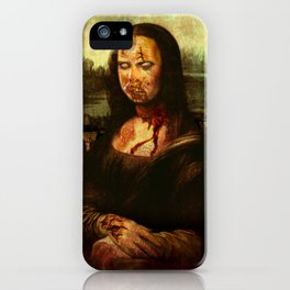 No Mona! Not You Too! iPhone Case