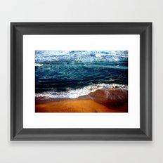 Ocean Swells Framed Art Print