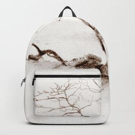 Scots Pine Sepia Backpack