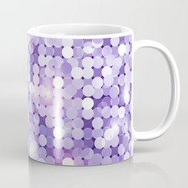 Ultra Violet Purple Glitter Coffee Mug