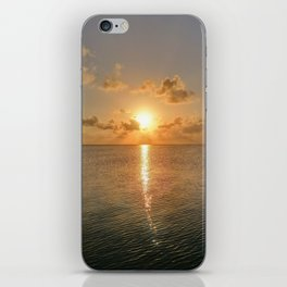 San Pedro Sunset iPhone Skin