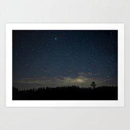 Stars over Alabama Art Print