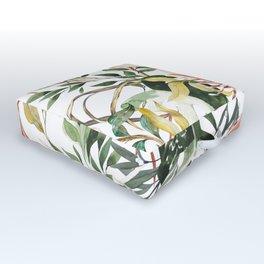 Bohem tropical bloom 003 Outdoor Floor Cushion