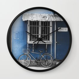 colorless shanghai 3 Wall Clock