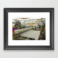 Cloth of the Loom Framed Art Print