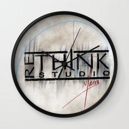 ReThink Studio Marty Sketch Wall Clock